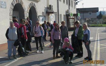 Čistilna akcija v Vnanjih Goricah