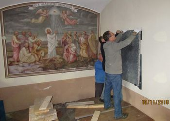 Novi pridobitvi v cerkvi Svetega Antona Puščavnika na Brezovici