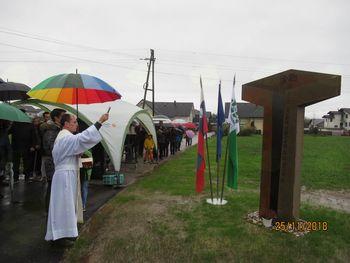 Predstavitev novega Antonovega križa na Brezovici