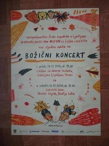 Božični koncert mladih iz Češke