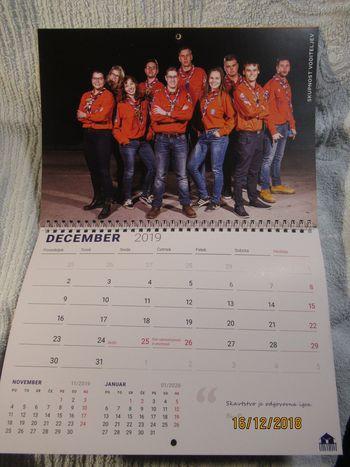 Ostrorogega kolišče - koledar 2019
