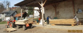Dokončana obnova pročelja ladje na Gulču