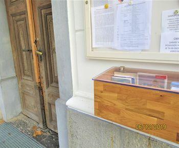 Občinsko društvo podeželske mladine in družin Brezovica je prispevalo za novo knjigobežnico