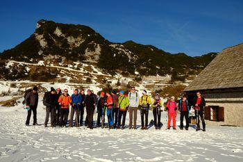 Zimovanje mladih planincev na Komni