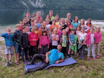 Plezalni tabor Bohinj, junij 2017