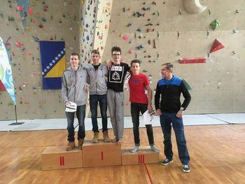 Prvenstvo srednjih šol v športnem plezanju 2018