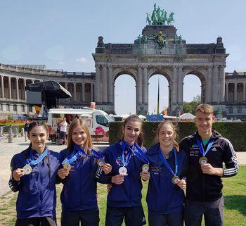 Mladinsko evropsko prvenstvo v športnem plezanju, Bruselj 2018