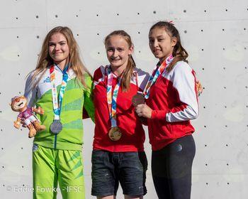 Vita 2. na mladinskih olimpijskih igrah v Buenos Aires-u