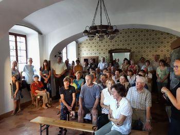 Otvoritev razstave članov Likovne sekcije DU Lukovica