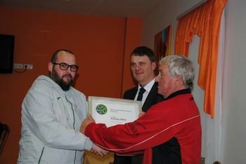 Pohvala ZNTS za vodjo nogometne šole NK Slatine