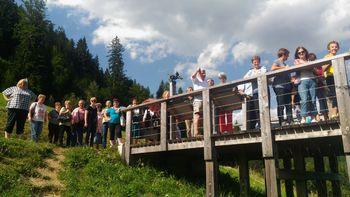Člani Društva Simon Jenko obiskali Solčavsko
