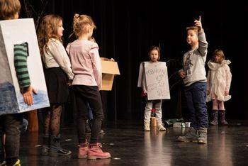 MLADI ODER, območno srečanje otroških gledaliških skupin