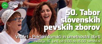 50. Tabor slovenskih pevskih zborov