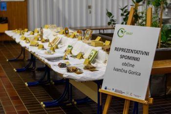 Rezultati ocenjevanja reprezentativnih spominkov občine Ivančna Gorica (projekt RAST)