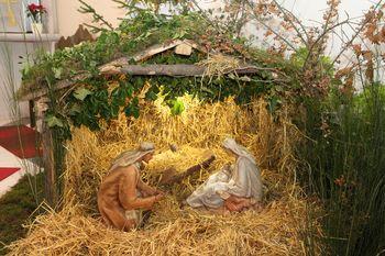 Božične jaslice naše župnije