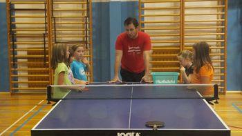 NTK Preserje vpisuje v šolo namiznega tenisa
