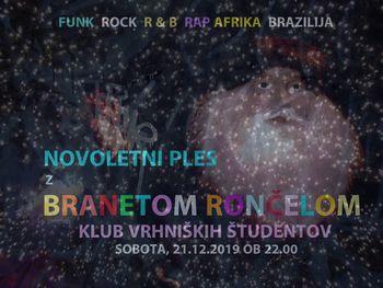 Novoletni ples z Branetom Rončelom