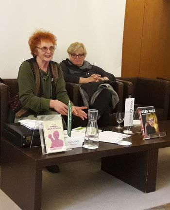 Predstavitve knjige Demenca, moja učiteljica: z Deso Muck in avtorico knjige Ano Cajnko
