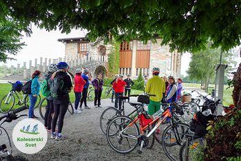 Kolesarski izlet po Ljubljanskem barju