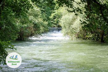 Kolesarski izlet do izvira reke Ljubljanice