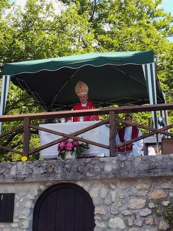 Kardinal Rode na Svetem Jakobu