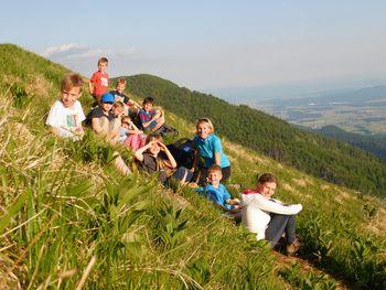 3. mini tabor za mlajše planince OŠ Preddvor v Hudičevem Borštu