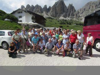 Izlet upokojencev v Dolomite