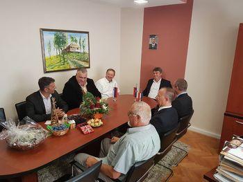 Predstavniki Preddvora na obisku v Srbiji