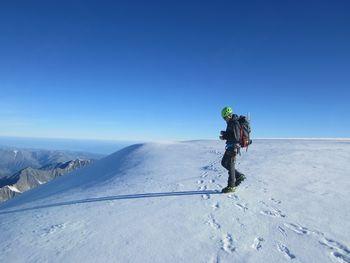 Srečo Rehberger iz Nove vasi pri Preddvoru prvi Slovenec na vrhu Sibirije