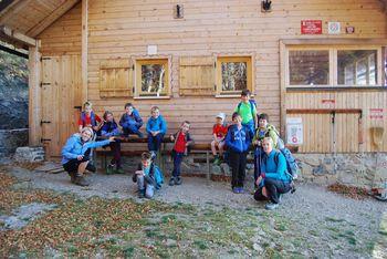 4. Mini tabor mlajših planincev OŠ Preddvor v Hudičevem borštu