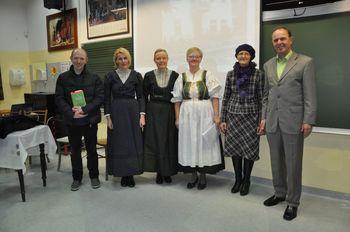 Kulturni večer ob predstavitvi knjige Pod gorami v Preddvoru