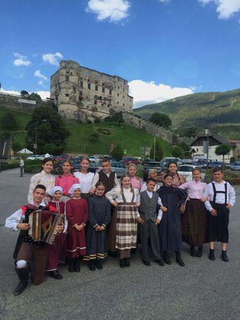 Turneja Otroške folklorne skupine Preddvor v Avstriji