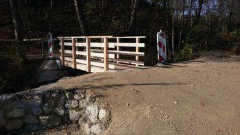 Obnovljen most čez Suho