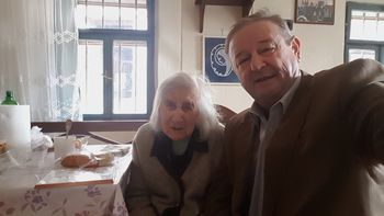 Miran Zadnikar še zadnjič v vlogi župana obiskal stoletnici