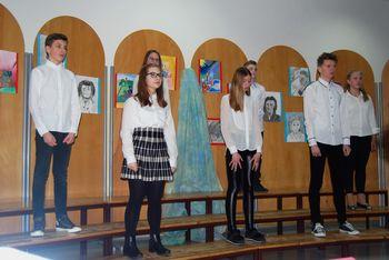 Prireditev v počastitev slovenskega kulturnega praznika v OŠ Preddvor