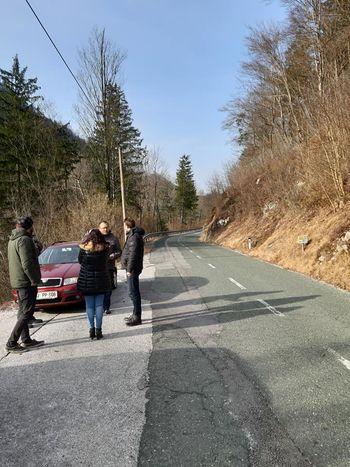 Letošnje dogajanje na državni cesti skozi Tupaliče, Potoče in Kokro