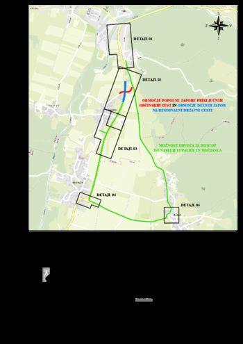 Zaradi izgradnje krožišča bo na državni cesti v Tupaličah oviran promet