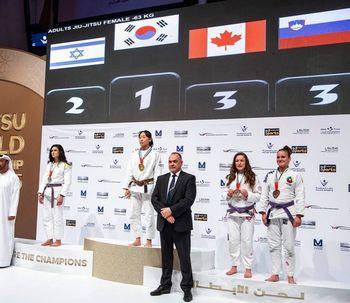 Maja Povšnar tretja na svetovnem jujitsu članskem prvenstvu v Abu Dhabiju