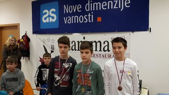 Preddvorski mladi šahisti odlični na Medobčinskem prvenstvu osnovnih šol v šahu