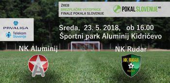 Aluminij : Rudar - 35. krog Prve lige Telekom Slovenije 2017/18