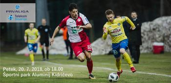 Aluminij : Celje - 1. krog Prva liga Telekom Slovenije 2018/19