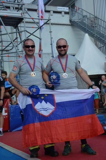 Gasilci PGD Vnanje Gorice na tekmovanju na Bavarskem