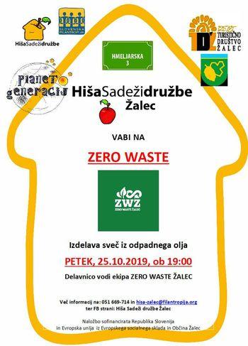 Zero waste: Izdelava sveč iz odpadnega olja