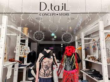 S snežinkami posejana izložba D.tajl Concept Store
