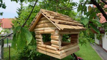 V Kamniku pod Krimom nastajajo simpatične ptičje hišice