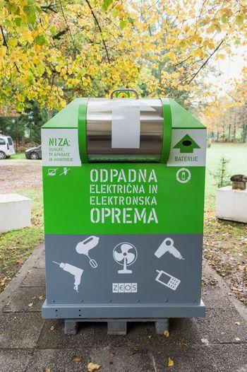 Novi zbiralniki odpadkov