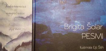 Predstavitev knjige Jožefa Pavliča: Vodoravnice in navpičnice ter predstavitev knjige Brigite Šolar: Pesmi