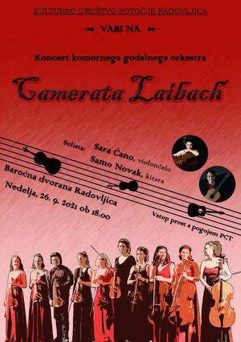 Koncert komornega godalnega orkestra Camerata Laibach
