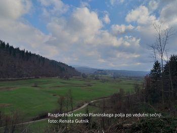 Vzpostavljen razgled na Planinsko polje s počivališč med Grčarevcem in Planino