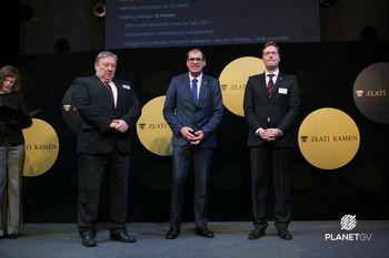Občini Logatec podeljena Plaketa Zlati kamen 2018 za razvojni prodor v osrednji in jugovzhodni Sloveniji